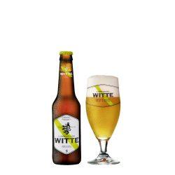 Limburgse Witte apple-pear, almás-körtés szüretlen búzasör – 0,33 lit. eldobható üveg