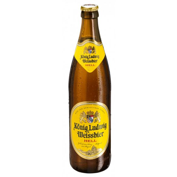 König Ludwig Hefe Weissbier szüretlen búzasör 0,5 Lit. eldobható üveges