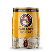 Paulaner  Münchner Hell lager, világos sör - 5 literes partyhordó