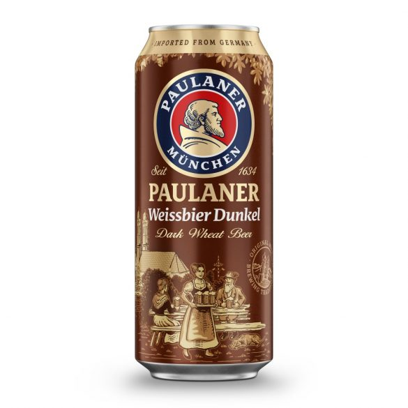 Paulaner Hefe - Weissbier Dunkel - 0,5.lit.dobozos