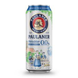 Paulaner Hefe Weissbier, szűretlen búzasör, alkoholmentes – 0,5 lit. dobozos