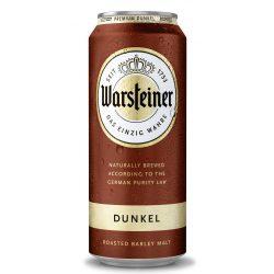 Warsteiner Dunkel, barna sör – 0,5 lit. dobozos