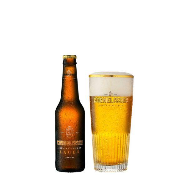 Cornelissen Luxury Lager, belga kézműves sör - 0.33 lit. eldobható üveg