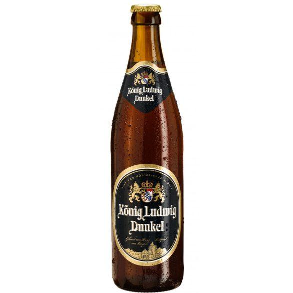König Ludwig Dunkel 0,5 Lit. eldobható üveges