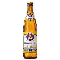 Paulaner  Münchner Hell lager, világos sör - 0,5 lit. betétdíjas üveges