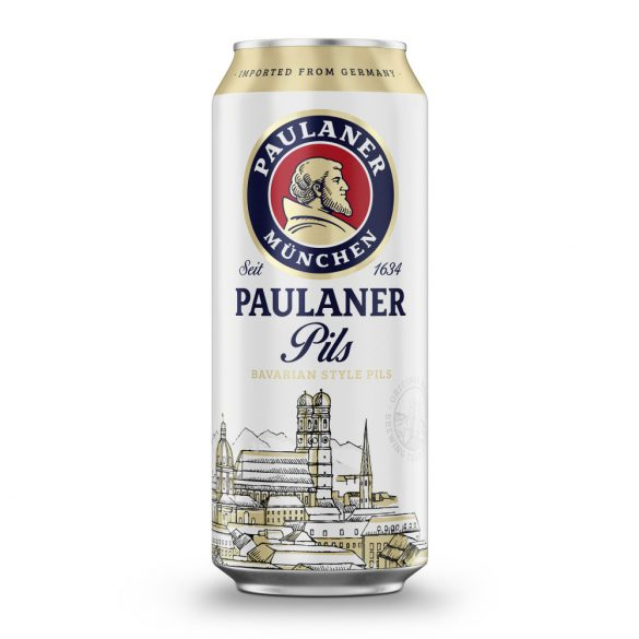 Paulaner Bavarian Style Pils 0,5L dobozos
