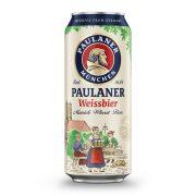 Paulaner Hefe Weissbier, szűretlen búzasör - 0,5 lit. dobozos