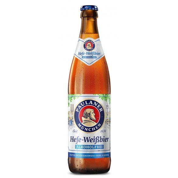 Paulaner Hefe Weissbier, szűretlen búzasör, alkoholmentes – 0,5. lit betédíjas üveges