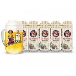 15db Paulaner HW 0,5L dobozos sör ajándék Oktoberfest korsóval